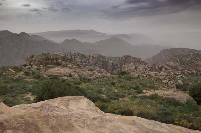 Wadi Dathneh Trail