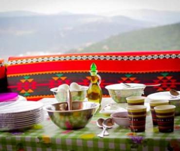 Mount Burqash camp