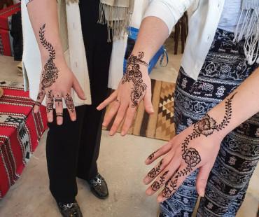 Online Henna Design Experience
